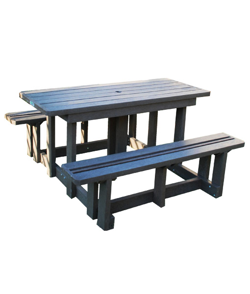 4 Seater Budged Picnic Table No Back