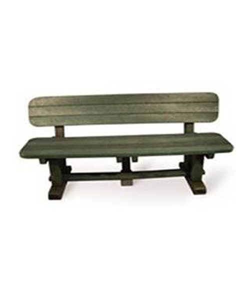1.8m 4 Seater Sleeper Bench with Back