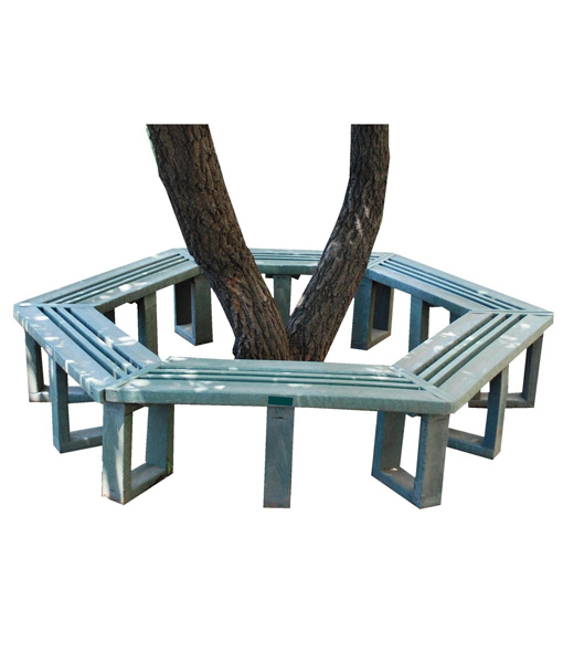 8-12-seater-hex-tree-bench