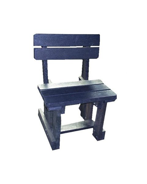 single-park-bench